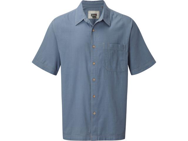 Royal Robbins Cool Mesh Bluzka z krótkim rękawem Mężczyźni, steel blue